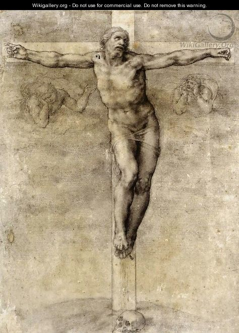 Christ On The Cross 1541 - Michelangelo Buonarroti