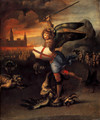 Saint Michael And The Dragon - Raphael