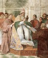 Gregory IX Approving The Decretals - Raphael
