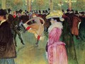 Dance At The Moulin Rouge - Henri De Toulouse-Lautrec