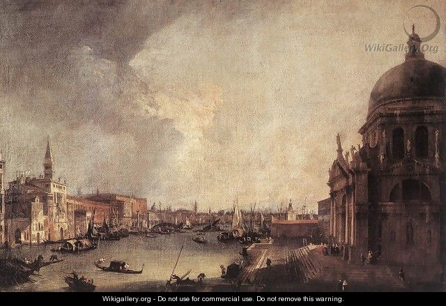 Entrance to the Grand Canal- Looking East c. 1725 - (Giovanni Antonio Canal) Canaletto