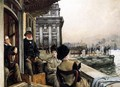 The Terrace Of The Trafalgar Tavern Greenwich London - James Jacques Joseph Tissot