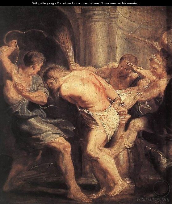 The Flagellation Of Christ - Peter Paul Rubens