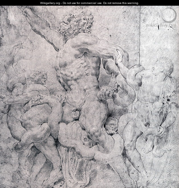 Laocoon And His Sons - Peter Paul Rubens