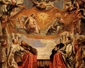 The Trinity Adored By The Duke Of Mantua And His Family - Peter Paul Rubens