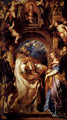 Saint Gregory With Saints Domitilla Maurus And Papianus - Peter Paul Rubens