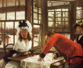 An Interesting Story - James Jacques Joseph Tissot