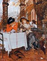 A Luncheon - James Jacques Joseph Tissot