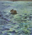The Escape Of Rocherfort - Edouard Manet