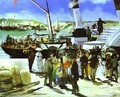The Depature Of The Folkestone Boat - Edouard Manet