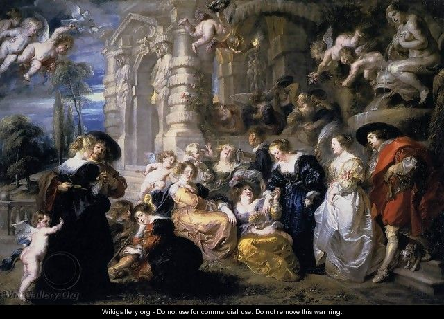 Garden Of Love - Peter Paul Rubens