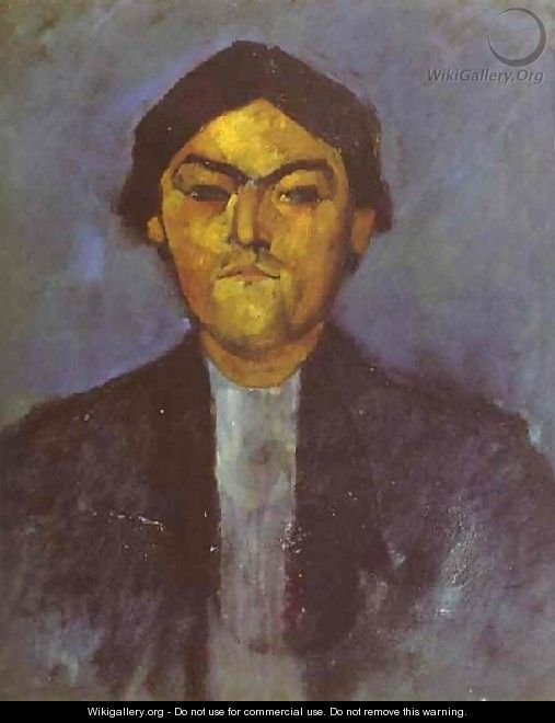 Portrait Of Pedro - Amedeo Modigliani