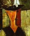 Madam Pompadour Portrait Of Beatrice Hastings - Amedeo Modigliani