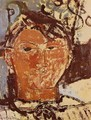 Portrait Of Pablo Picasso - Amedeo Modigliani