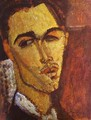 Portrait Of The Spanish Painter Celso Lagar - Amedeo Modigliani