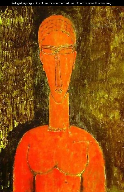 The Red Bust - Amedeo Modigliani