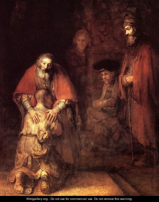 The Return of the Prodigal Son c. 1669 - Rembrandt Van Rijn
