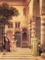 Old Damascus Jew's Quarter - Lord Frederick Leighton