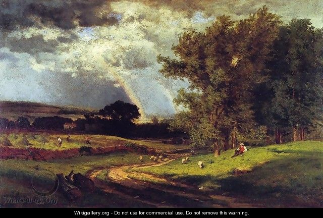A Passing Shower - George Inness