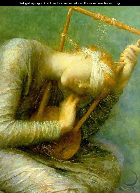 Hope Detail - George Frederick Watts