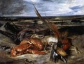 Still-Life with Lobster 1826-27 - Eugene Delacroix