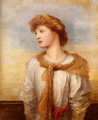 Portrait Of Miss Lilian Macintosh - George Frederick Watts
