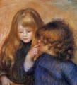 Young Gypsy Girls - Pierre Auguste Renoir