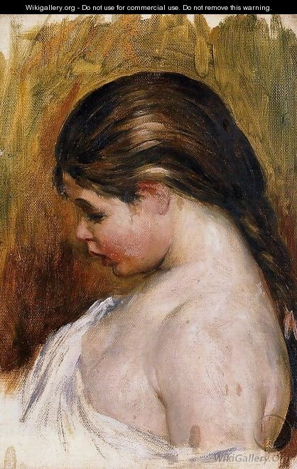 Young Girl Reading5 - Pierre Auguste Renoir