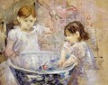 Children With A Bowl - Berthe Morisot