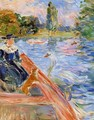 Boating On The Lake - Berthe Morisot