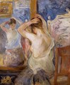 Before The Mirror - Berthe Morisot