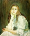 Julie Daydreaming - Berthe Morisot