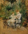 In The Garden - Berthe Morisot