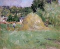 Haymakers At Bougival - Berthe Morisot