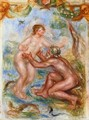 Study For The Saone Embraced By The Rhone - Pierre Auguste Renoir