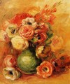 Still Life With Roses - Pierre Auguste Renoir