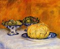 Still Life With Melon - Pierre Auguste Renoir