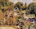 The Garden At Fontenay - Pierre Auguste Renoir