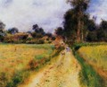 The Farm2 - Pierre Auguste Renoir