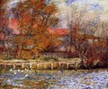 The Duck Pond - Pierre Auguste Renoir