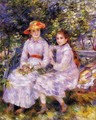 The Daughters Of Paul Durand Ruel Aka Marie Theresa And Jeanne - Pierre Auguste Renoir