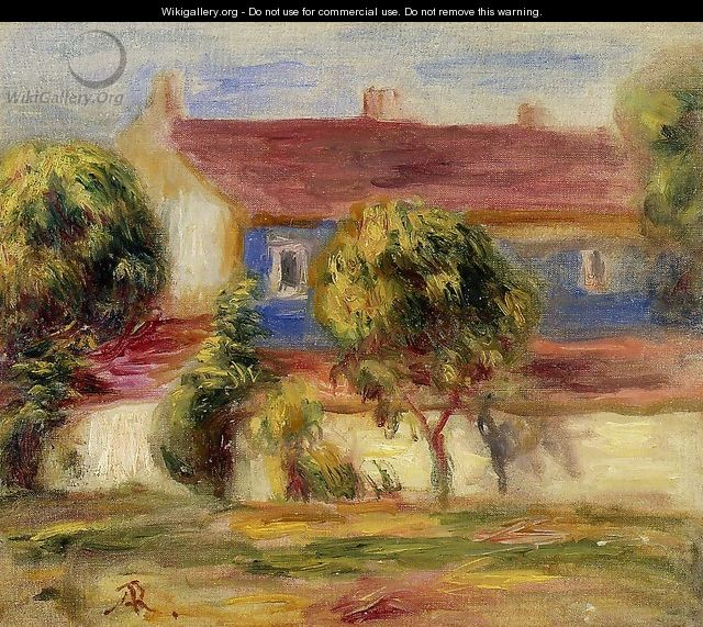 The Artists House - Pierre Auguste Renoir