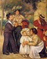 The Artists Family - Pierre Auguste Renoir