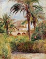 The Test Garden In Algiers - Pierre Auguste Renoir