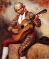 The Spanish Guitarist - Pierre Auguste Renoir