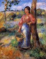 The Shepherdess - Pierre Auguste Renoir