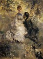 The Lovers - Pierre Auguste Renoir