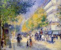 The Great Boulevards - Pierre Auguste Renoir