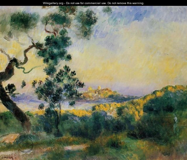 View Of Antibes - Pierre Auguste Renoir