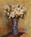 Vase Of Lilacs And Roses - Pierre Auguste Renoir